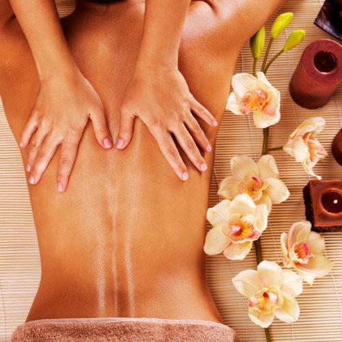 Massage du dos relaxant à Maubeuge Louvroil